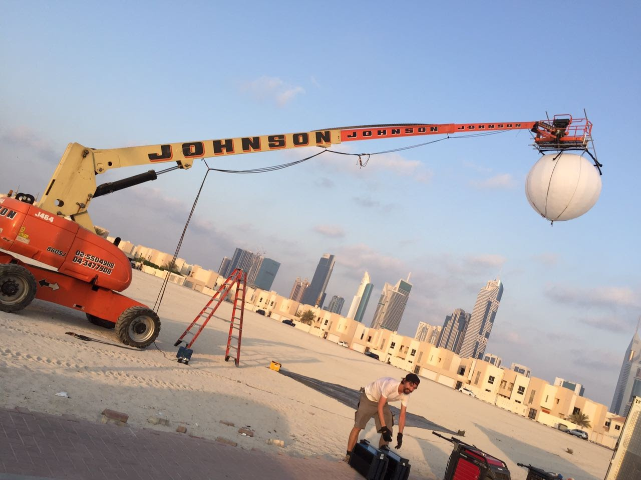 Gemball rental Dubai and Abu Dhabi